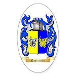 Nestorovic Sticker (Oval 50 pk)