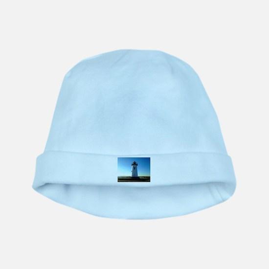Edgartown Lighthouse baby hat