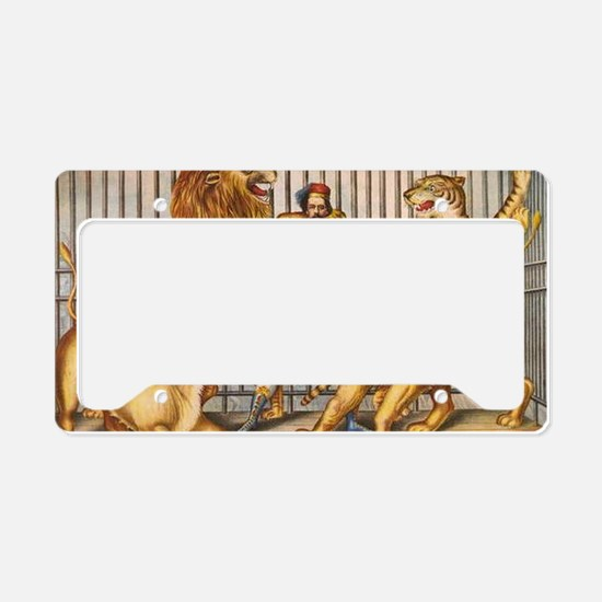 Cute Three lions License Plate Holder