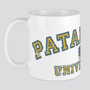 Orange/Blue Patanjali University Mug