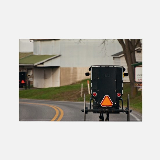 Cute Amish country Rectangle Magnet