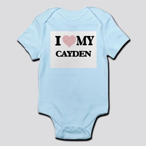 I Love my Cayden (Heart Made from Love m Body Suit