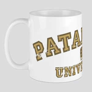 Yellow/Brown Patanjali University Mug