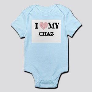 I Love my Chaz (Heart Made from Love my Body Suit