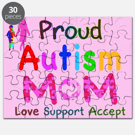 Proud Autism Mom Puzzle