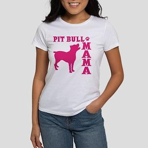 PIT BULL MAMA Women's T-Shirt