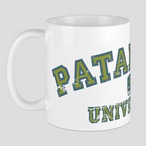 Green/Blue Patanjali University Mug