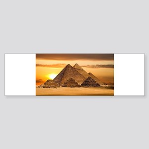 Egyptian pyramids Bumper Sticker