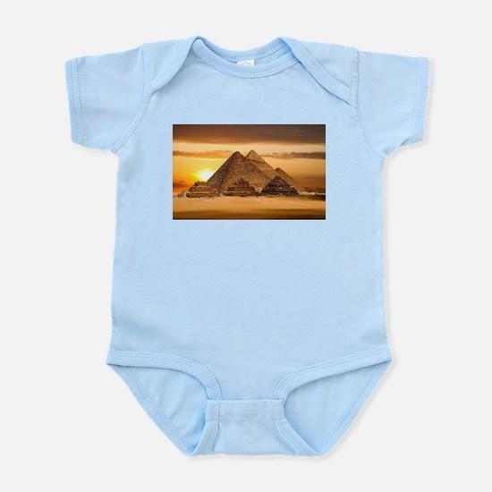 Egyptian pyramids Body Suit