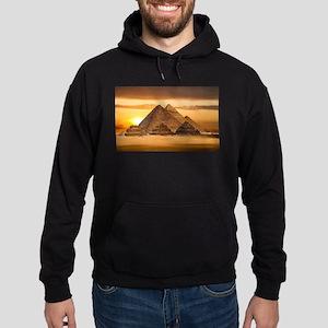 Egyptian pyramids Hoodie (dark)