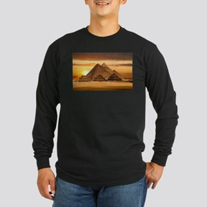 Egyptian pyramids Long Sleeve T-Shirt