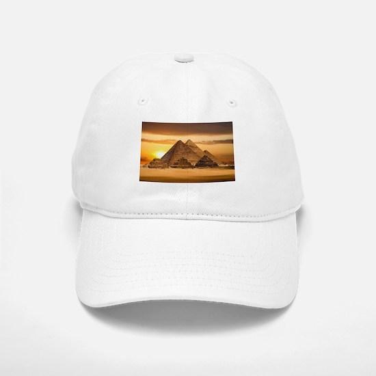 Egyptian pyramids Baseball Baseball Cap