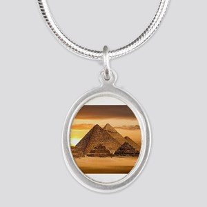 Egyptian pyramids Necklaces