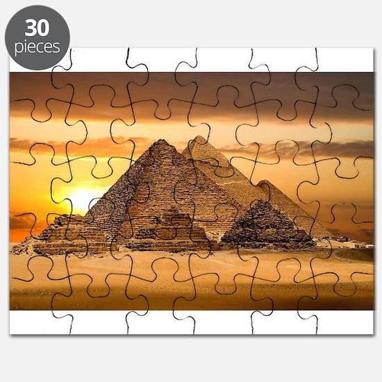 Egyptian pyramids Puzzle