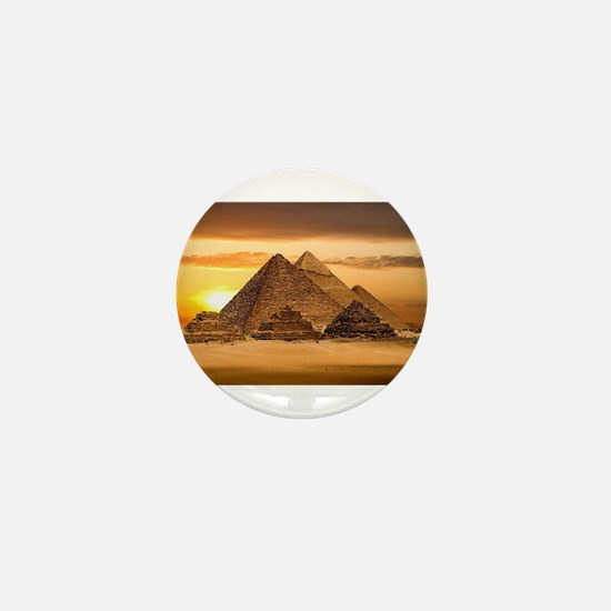 Egyptian pyramids Mini Button