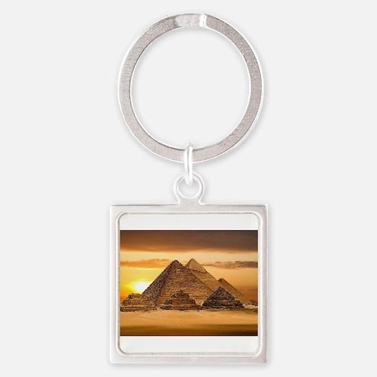 Egyptian pyramids Keychains