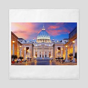 Vatican Rome Italy Queen Duvet