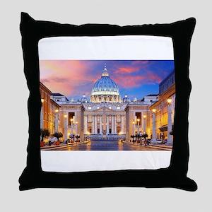Vatican Rome Italy Throw Pillow