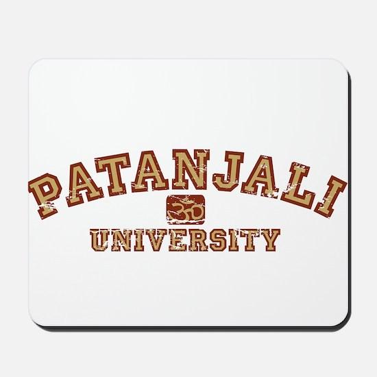 Red/Yellow Patanjali University Mousepad