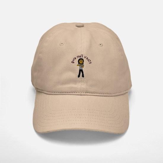 Dark Referee Baseball Baseball Cap
