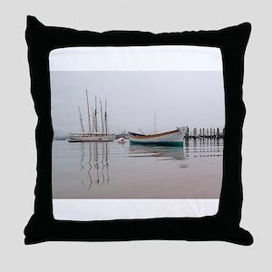Vineyard Haven Fog Throw Pillow