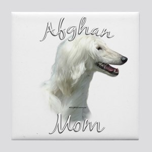 Afghan Mom2 Tile Coaster