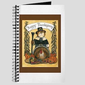 Thanksgiving Pilgrim, Male Journal