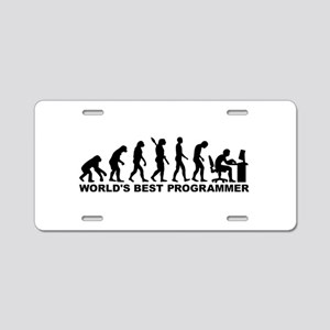 Evolution world's best Prog Aluminum License Plate