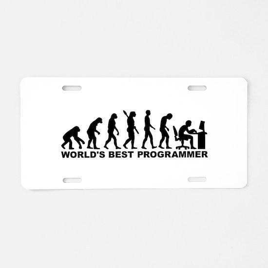Evolution world's best Prog Aluminum License Plate