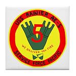 USS Rainer (AE 5) Tile Coaster