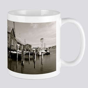 Menemsha Black & White Mugs