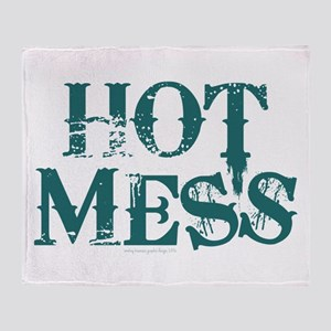 HOT MESS Throw Blanket