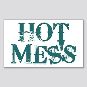 HOT MESS Sticker