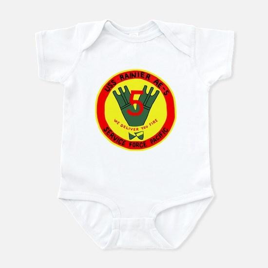 USS Rainer (AE 5) Infant Bodysuit