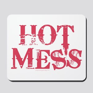 HOT MESS Mousepad