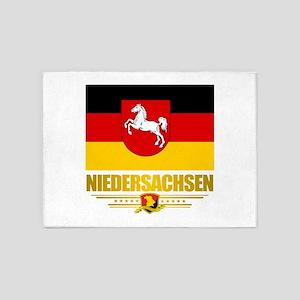 Niedersachsen 5'x7'Area Rug