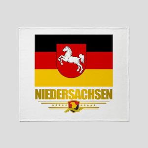 Niedersachsen Throw Blanket