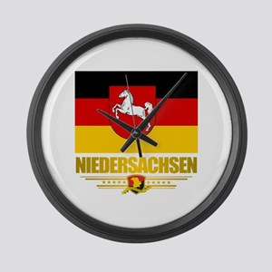 Niedersachsen Large Wall Clock