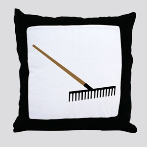 Rake Throw Pillow