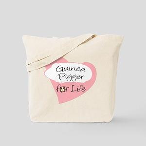 Guinea Pigger for Life Tote Bag