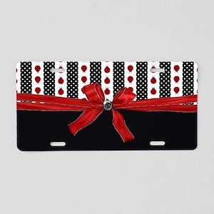 Ladybugs Fortune Aluminum License Plate