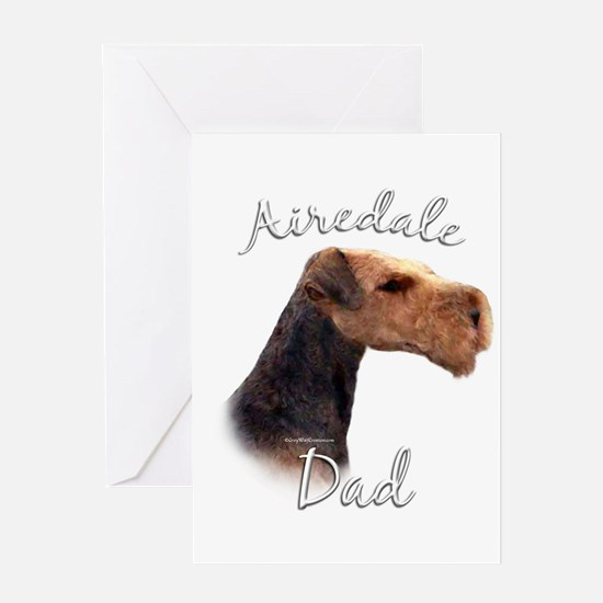 Airedale Dad2 Greeting Card