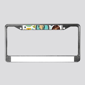 funny donald trump License Plate Frame