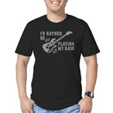 Bassist Fitted Dark T-Shirts
