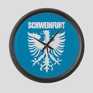 Schweinfurt Large Wall Clock