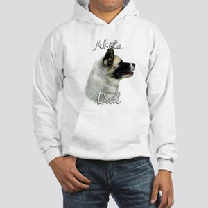 Akita Dad2 Hooded Sweatshirt