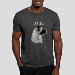 Akita Dad2 Dark T-Shirt