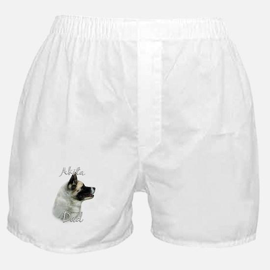 Akita Dad2 Boxer Shorts