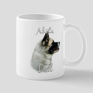 Akita Dad2 Mug