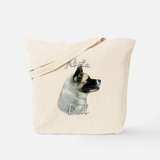 Akita Dad2 Tote Bag